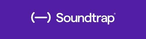 a purple logo